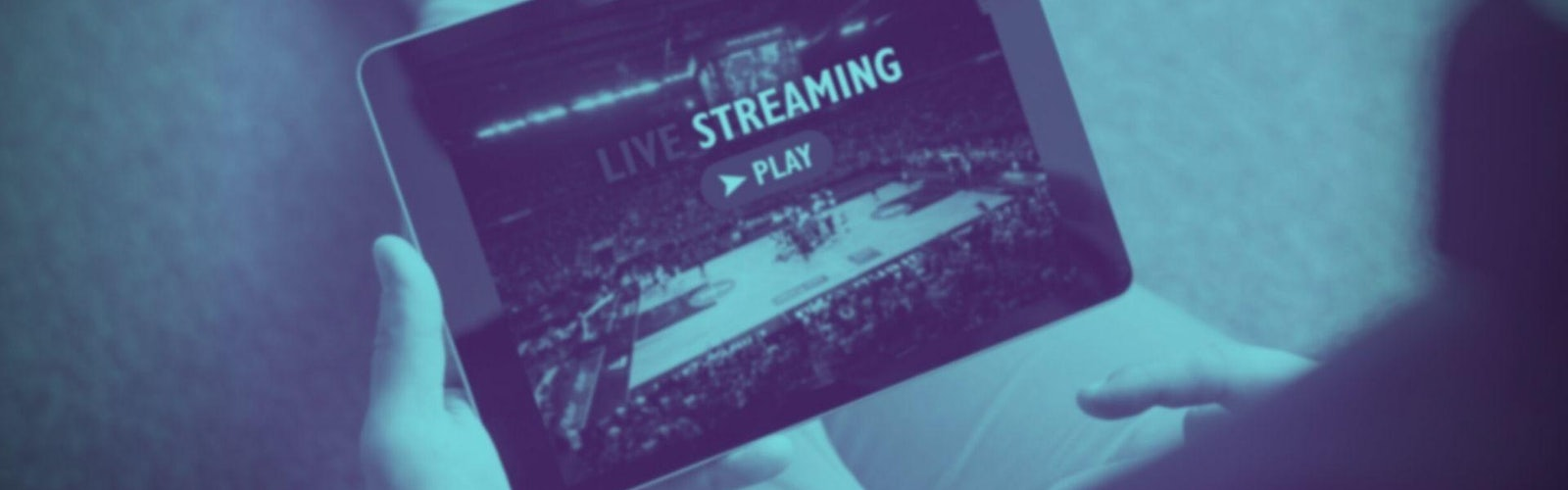 Sportwetten Live Stream Header Banner