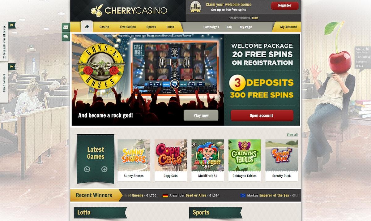 Cherry Casino Erfahrung
