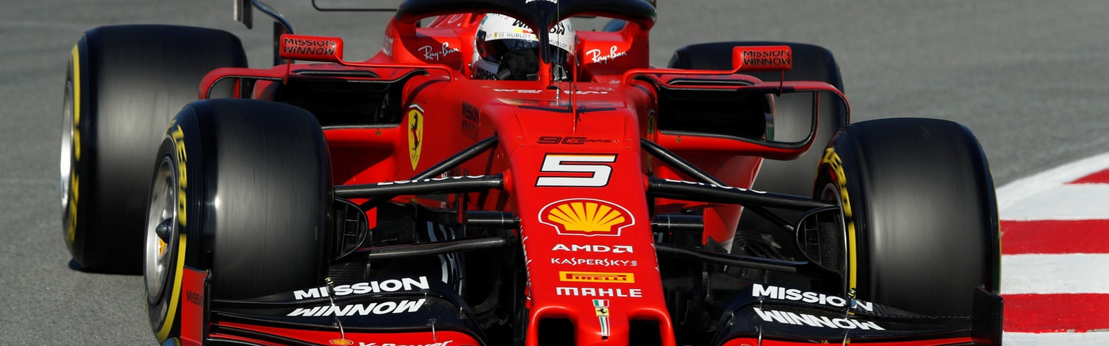Formel 1 Vettel Barcelona