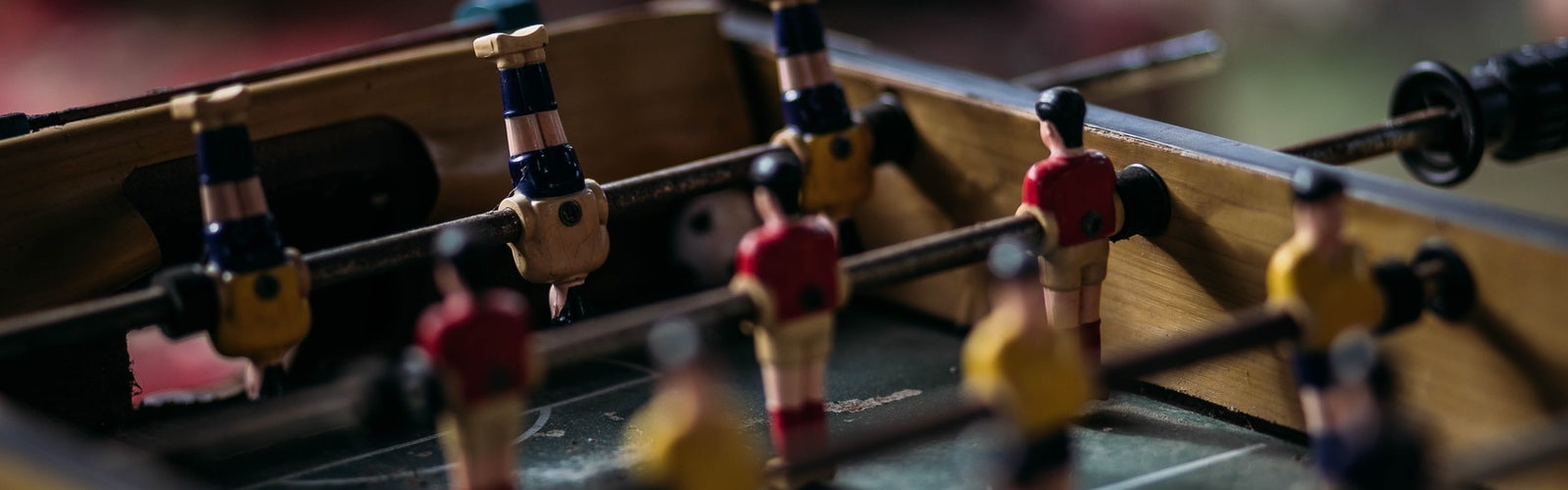 Close up photography of table football 2306897